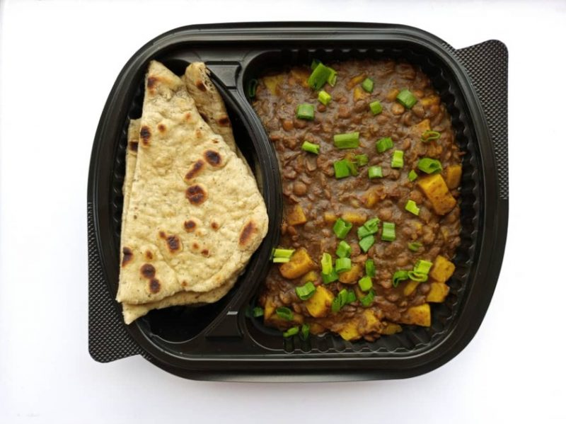 lentil curry and naan abuja